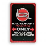 Backdraft Racing Parking Only