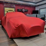 Red Indoor Car Cover-Form fitting