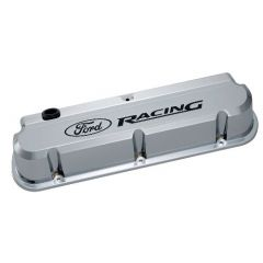 FORD RACING 289-351 Slant Edge Valve Covers in Chrome