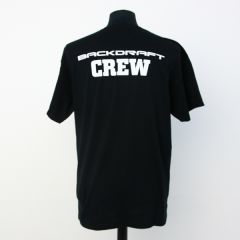 Backdraft Crew shirt Black