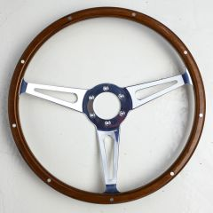 Moto Lita Style Wood Steering Wheel