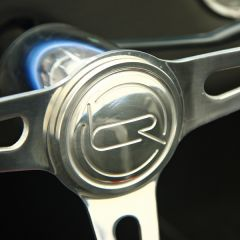BDR Billet Steering Badge