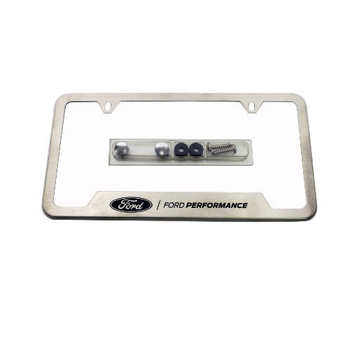 Ford Performance Stainless Steel License Plate